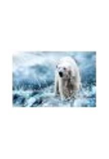 Painel Adesivo De Parede - Urso Polar - 228Pn-G