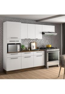 Cozinha Compacta Exclusive I 8 Pt 3 Gv Branca
