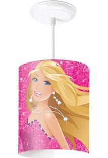 Pendente Cilíndrico Barbie Bailarina