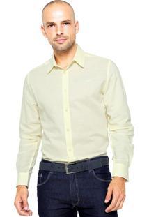 Camisa Colcci Bordado Amarela