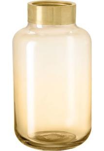 Vaso- Dourado- 20,5Xø22Cm- Martmart