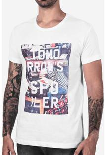 Camiseta Tomorrow´S Spoiler Branca 102524