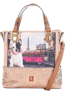 Bolsa Feminina Bulldog Be Forever Rafitthy 31.01106A_2 - Multicolorido - Dafiti