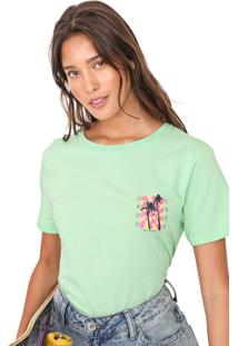 Camiseta Vans Wm Photo Op Verde - Verde - Feminino - Dafiti