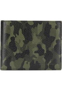 Karl Lagerfeld Carteira Dobrável Com Estampa Camuflada - Verde