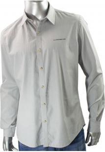 Camisa Social Ellus Second Floor Cotton London 20Sb343