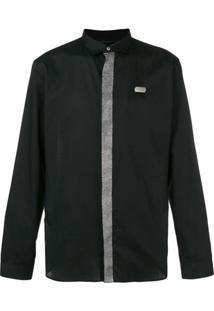 97ed024d60 ... Philipp Plein Camisa Listrada - Preto