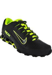 Tenis Running Preto Reax 8 Tr Nike 58311013