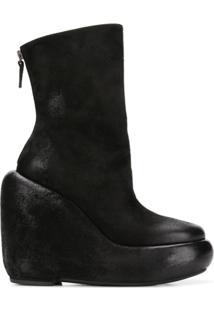 Marsèll Ankle Boot Plataforma - Preto
