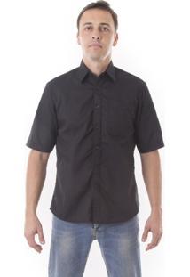 Camisa Social Vuzillo Manga Curta - Masculino
