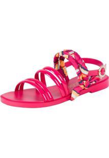 Sandália Petite Jolie Com Lenco Pink 36