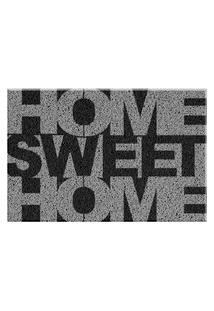 Capacho De Vinil Home Home Sweet Home Único Love Decor