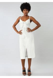 Vestido Malha New Stretto Branco