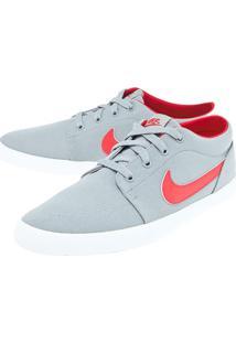 Tênis Nike Sportswear Futslide Cnvs Cinza