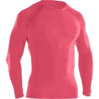 Blusa Térmica Ayron Fitness Segunda Pele Rosa Lisa c3156214e94