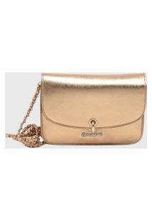 Bolsa Shoulder Bag Dumond Dourado