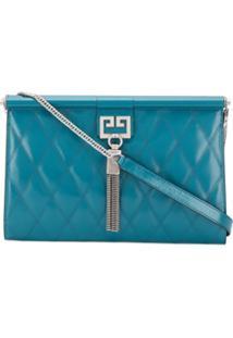 Givenchy Clutch Com Tassel - Azul