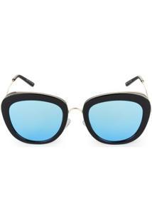 570ff696a R$ 59,90. Zattini Óculos De Sol Feminino Silicone Redondo Azul Marie ...