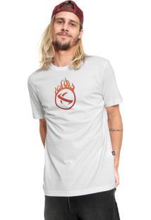 Camiseta ...Lost Estampada Branca