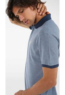 Camisa Polo Brasão Zíper