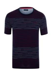 Camiseta Pierre Cardin Toulouse Masculina - Masculino-Marinho
