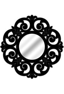 Espelho De Parede 14880P Preto 70X70 Art Shop