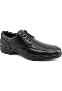 Sapato Social Couro Pipper Masculino - Masculino-Preto