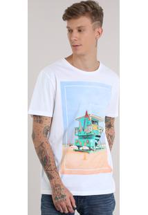 "Camiseta ""State Of Mind"" Branca"