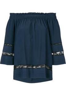 P.A.R.O.S.H. Blusa 'Angelica' - Azul