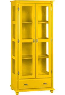 Cristaleira Kaon Glass - Amarela