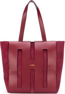 Hogan Large Tote Bag - Vermelho