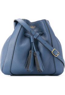 Mulberry Bolsa Tiracolo Com Detalhe De Tassel - Azul