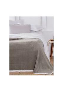 Cobertor Casal Corttex Áustria Cinza