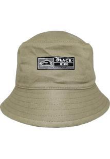 Chapã©U Bucket Hats Black Bird Thb 80 - Dourado - Dafiti