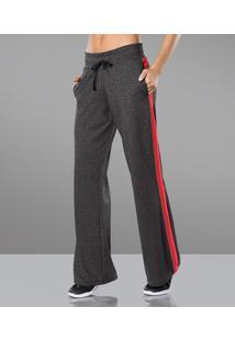 Calça Pantalona Listra Lupo Sport ( 76382-001), Cinza, M