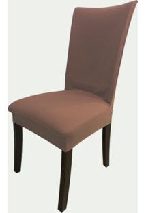 Capa Para Cadeira De Malha Kit 6 Unidades Brownie S.T.