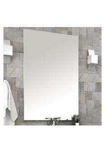 Espelheira Para Banheiro Alfa 60X80Cm Bosi Branca