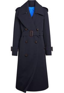 Burberry Trench Coat Oversized - Azul