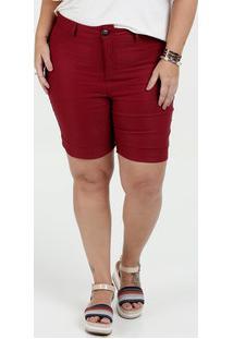 Bermuda Feminina Plus Size Gups