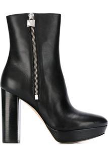 Michael Michael Kors Side-Zip Ankle Boots - Preto
