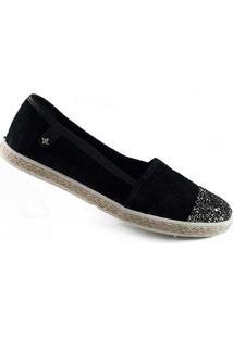Alpargata Com Glitter Cravo E Canela - 142412