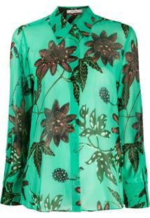 Dorothee Schumacher Blusa Com Estampa Floral - Verde