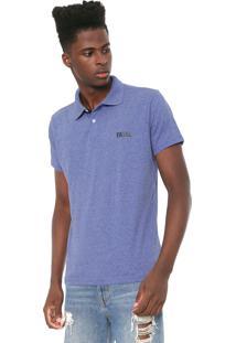 Camisa Polo Fatal Reta Fashion Basic Azul