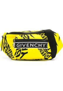 Givenchy Pochete Com Estampa De Logo - Amarelo