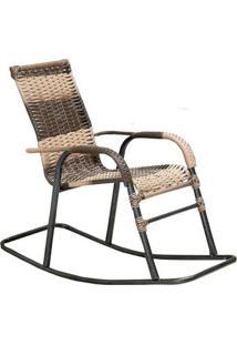 Cadeira Artesanal De Balanço Bela Móveis Famais