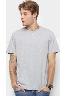 Camiseta Cavalera Básica Masculina - Masculino-Mescla