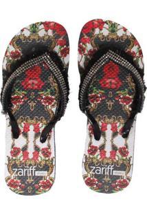dc6f6a2868cfb6 Zariff Chinelo Zariff Shoes Plataforma Strass