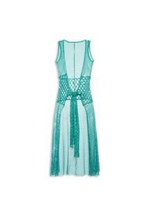 Vestido Crochê - Verde