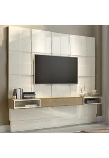 Painel Para Tv Com 1 Gaveta Tb126 - Dalla Costa Elare