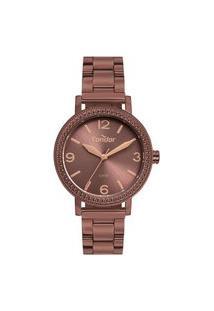Relógio Condor Feminino Full Colors Roxo Analógico Co2035Muok4M